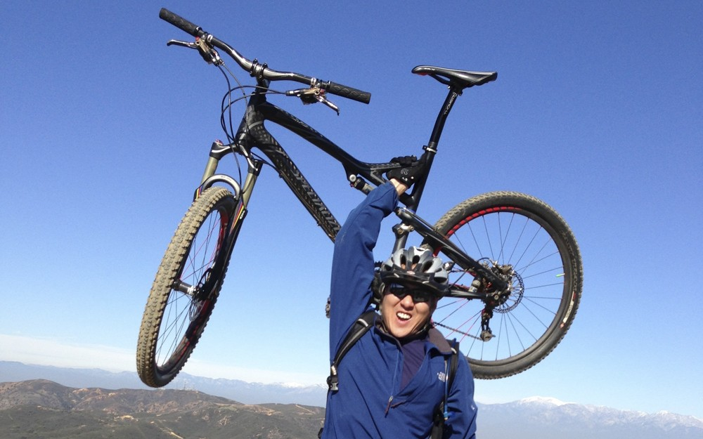 Jeff Tong, mountain bike, heart attack, recovery, cardiogenic shock