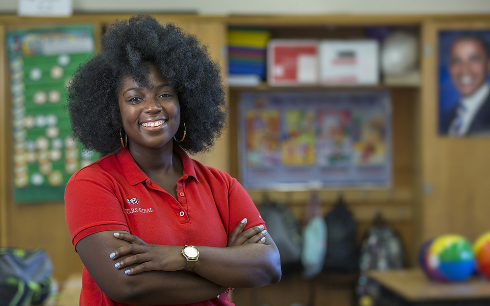 Q&A: Aja Johnson, Community Health Educator teaser image