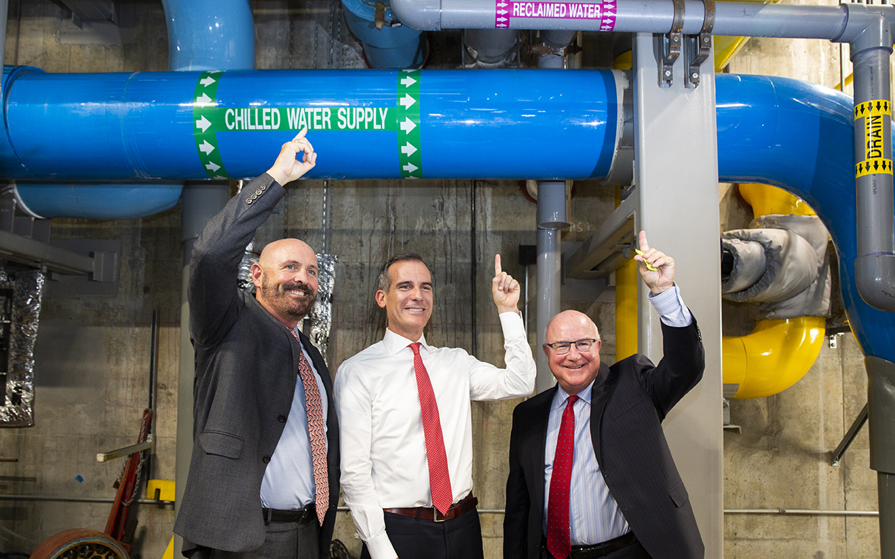 Mayor Visits Cedars-Sinai Water Conservation Project teaser image