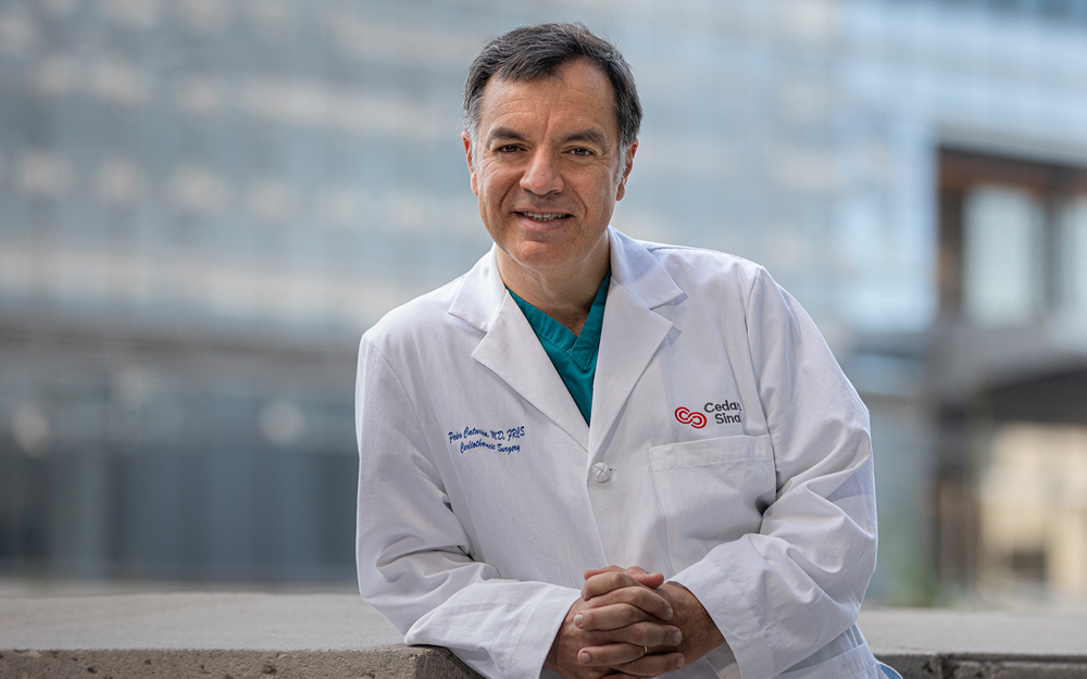 Faces of Cedars-Sinai: Cardiac Surgeon Dr. Pedro Catarino teaser image