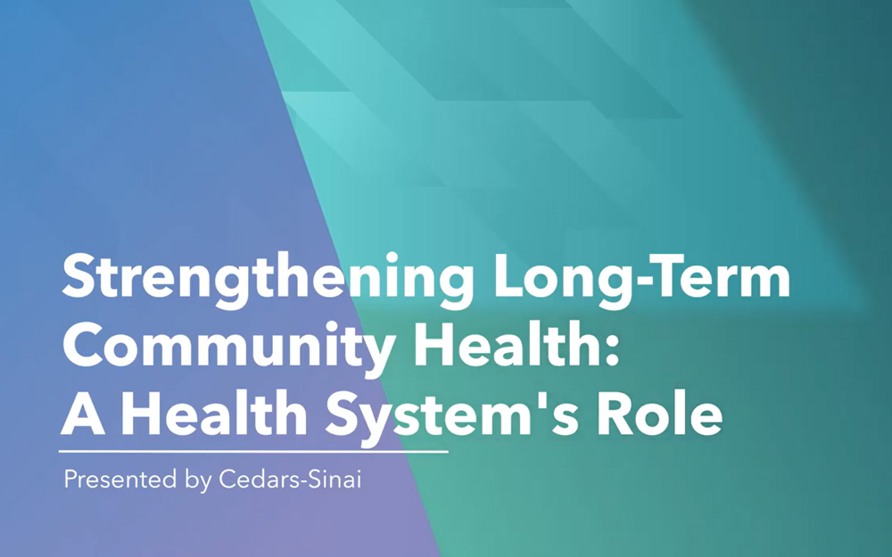 A Hospital's Role in Strengthening Vulnerable Communities teaser image