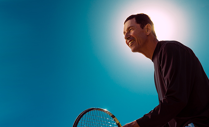 The Tennis Player: Bernie LeSage teaser image