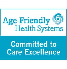 Committed to Care Excellence badge for Age-Friendly Health Systems