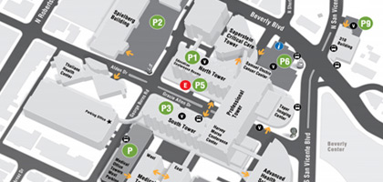 Medical Campus Map & Parking