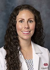 Dacia Murillo, PA, is a physician assistant part of the Cedars-Sinai Vein Program.